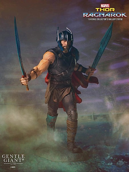 Gentle Giant Marvel Thor Ragnarok Collectors Gallery Statue